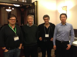 深度学习四大神 依次是(Yann LeCun,Geoffrey Hinton, Yoshua Bengio, Andrew Ng)