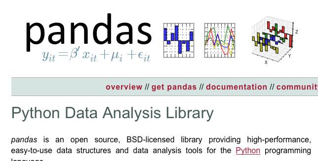 8个学习pandas数据分析的超级资源